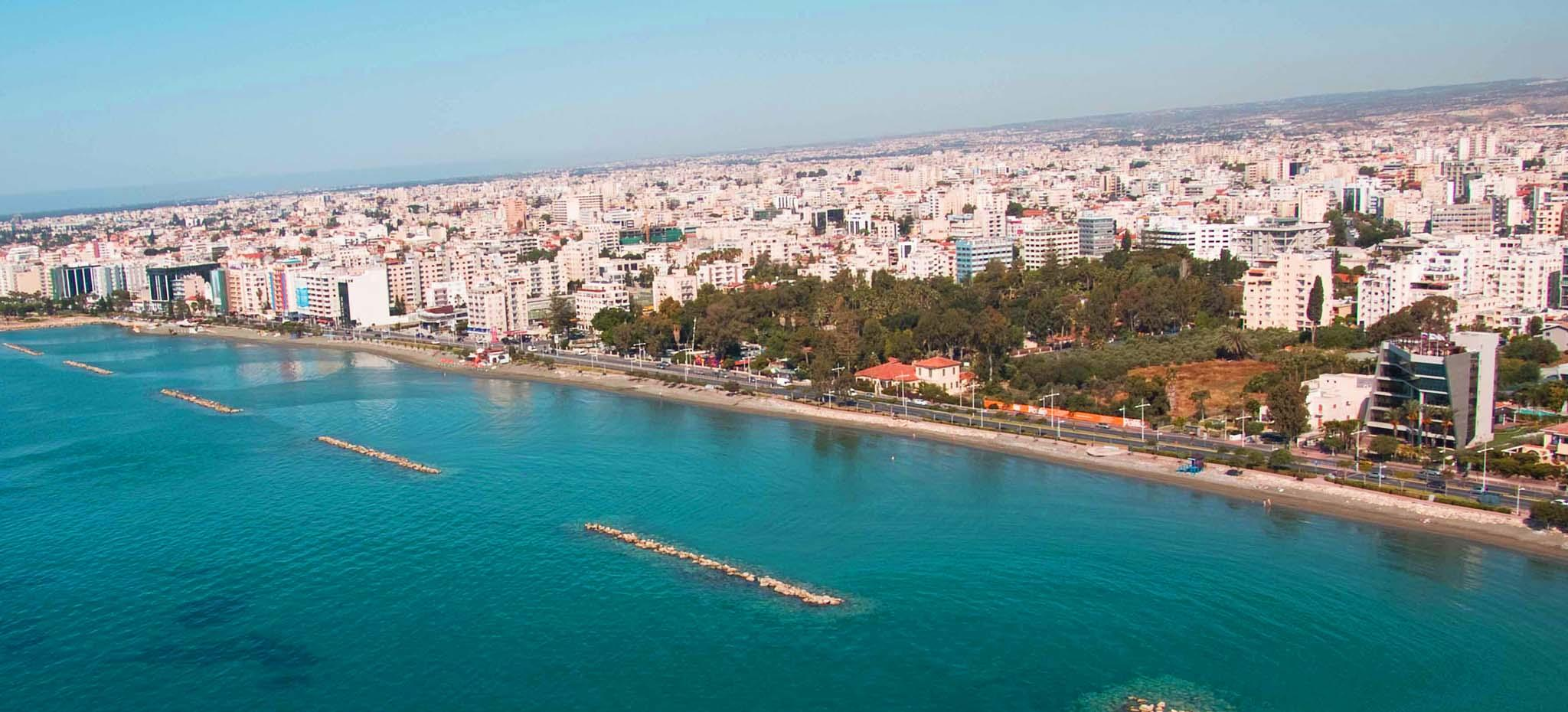 Big limassol beach cyprus holiday places