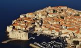 Small dubrovnik southern coast of croatia adriatic sea