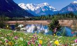 Small 1237043667 loisach river wetterstein mountains eschenlohe
