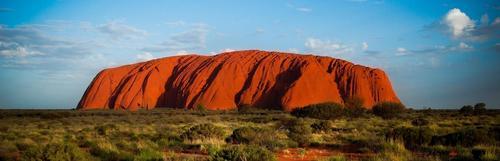 Banner uluru australia
